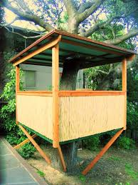 Simple Backyard Tree Houses by 82 Best Tree House Ideas Images On Pinterest Treehouses