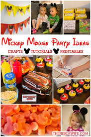mickey mouse birthday party ideas disney imagicademy mickey mouse party ideas