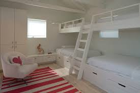 White Ceiling Beams Decorative by Austin Bunk Beds With Bedroom Contemporary White Bed Ladder Loft