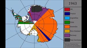 Map Of Antarctica Territorial Claims Of Antarctica 1900 2015 Youtube