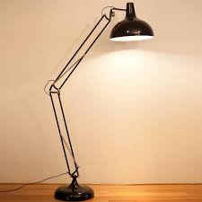 huge sly style floor lamp in black statement lighting from