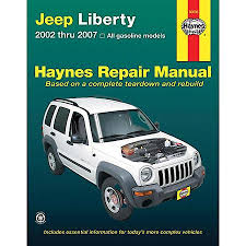 2002 jeep liberty fog lights haynes jeep liberty 02 07 repair manual 50035 advance auto parts