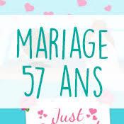 57 ans de mariage carte anniversaire mariage virtuelle gratuite à imprimer