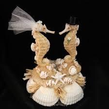 seahorse cake topper sea inspired groom cake topper decoration