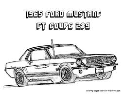 1965 ford mustang coloring book pinterest ford mustang ford