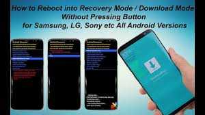android boot into recovery how to reboot into recovery mode mode without pressing