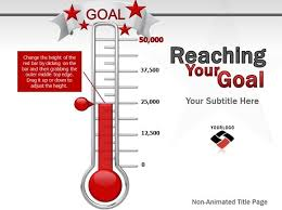 Thermometer Goal Chart Fundraising Template Excel Effortless Thermometer For Fundraising Template