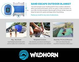 amazon com sand escape compact outdoor beach blanket picnic