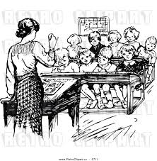 teacher speaking clip art black and white sketch coloring page