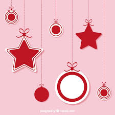 hanging ornaments vector free