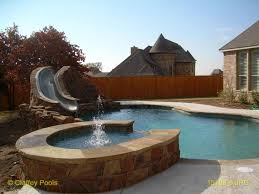 dolphin waterslides slideshow luxury pools