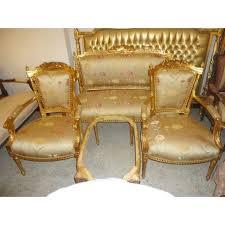 canap style ancien style ancien style baroque salon 4 chaises 1 canapé alsa0315 achat