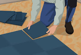 how to install carpet tiles at the home depot