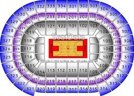United Center Floor Plan Center Seating Chart