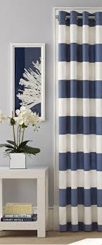 White And Navy Striped Curtains Curtain Magnificent Rugby Stripe Curtains Outstanding Pattern And