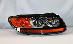 hyundai santa fe light replacement amazon com hyundai santa fe replacement headlight assembly
