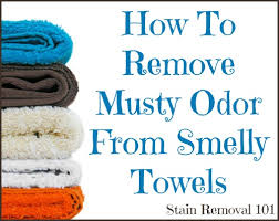how to get rid of musty smell in furniture smelly towels jpg