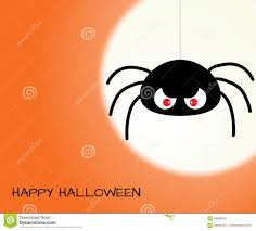 halloween design template with bat moon and place for text stock