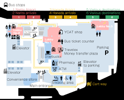 Narita Airport Floor Plan Floor Map Business Information Ycat Yokohama City Air Terminal