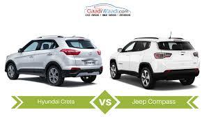 jeep compass 7 seater jeep compass vs hyundai creta specs comparison