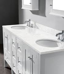 Vanity Bathroom Tops White Bathroom Vanity Top Kathyknaus