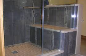 glass block designs for bathrooms shower popular glass block walk in shower plans commendable