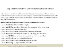 communication cover letter communications analyst cover letter