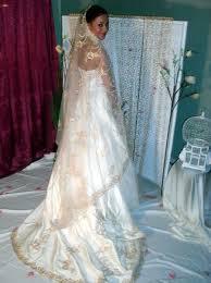 robe mari e orientale robe de mariée orientale en soie sauvage broderies or tenues