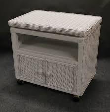 dark wicker nightstand u2014 all home design solutions beautiful