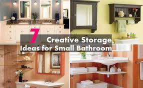 Bathroom Storage Ideas For Small Bathrooms by 7 Creative Storage Ideas For Small Bathrooms Home So Good
