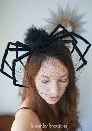 the original huge black widow spider halloween headpiece