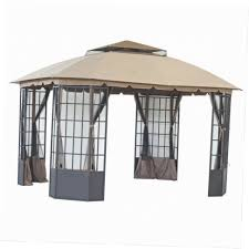 Grill Gazebos Home Depot by Outdoor Charming Metal Gazebo Home Depot Hampton Bay Gazebos
