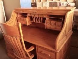 Oak Crest Desk Oak Crest Roll Top Desk On Popscreen