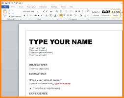 9 resume templates microsoft word 2010 emails sample resume
