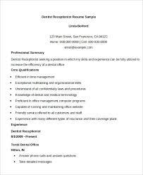 Receptionist Skills For Resume Download Resume Receptionist Haadyaooverbayresort Com