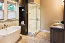 bathrooms pinam medium bathroom with tan tile and paint bath walk in shower built