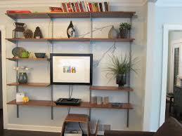 smart decorating living room shelves for additional options u2013 wall