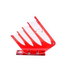 popular plastic kitchen knife block buy cheap plastic kitchen multifunctional knife holder xyj brand plastic kitchen knife stand high grade tools block for 4pcs