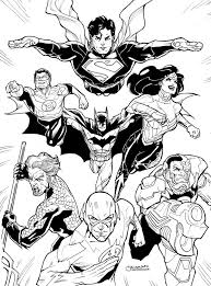 justice league coloring pages free pictures books worth reading