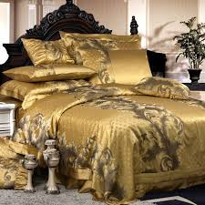 Bedding Sets Luxury 8 Pieces Silk Luxury Bedding Sets Set40