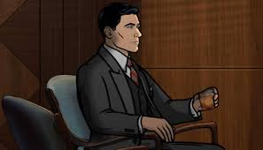 archer cartoon archer dreamland u0027 is about dealing with george coe u0027s death u0026 7