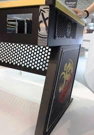 Desks For Gaming by Bitspower Red Harbinger Desk For Gaming Addicted Finding Desk