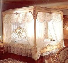 Curtain Beds King Size Canopy Bed With Curtains Dynamicpeople Club