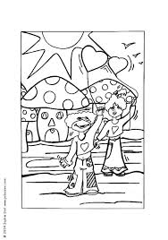 mushroom world coloring pages hellokids com