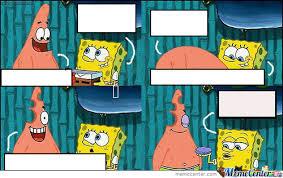 Gambar Meme Polos - polosan spongebob by shafatc meme center