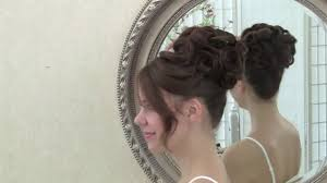 bridal hair style video updo with clean curls video dailymotion
