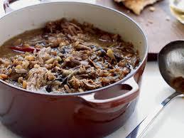 Stew Ideas Iraqi Lamb And Eggplant Stew With Pitas Recipe Jessie Sheidlower