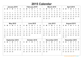 Printable Calendar Year 2015 | yearly calendar template 2015 gidiye redformapolitica co