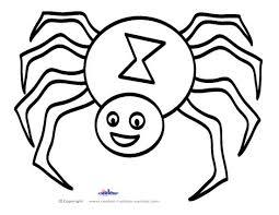 7 best images of spiders for halloween printable halloween