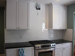 kitchen backsplash tile murals classic white cabinets countertop